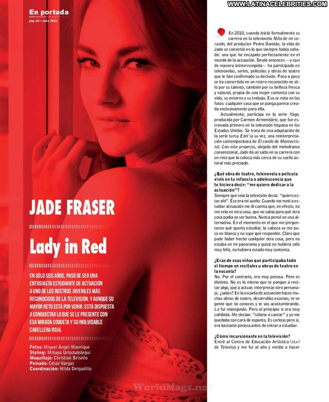 Jade Fraser Miscellaneous Brunette Small Tits Skinny Sexy Celebrity