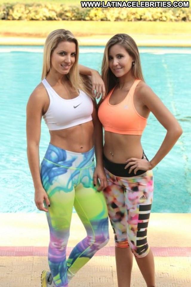 Carolina Villarino Fox Fit Celebrity Latina Hot Blonde Stunning
