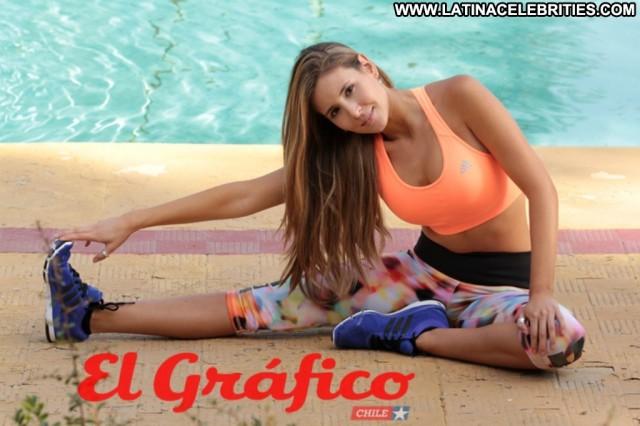 Carolina Villarino Fox Fit Hot Stunning Celebrity Cute Brunette