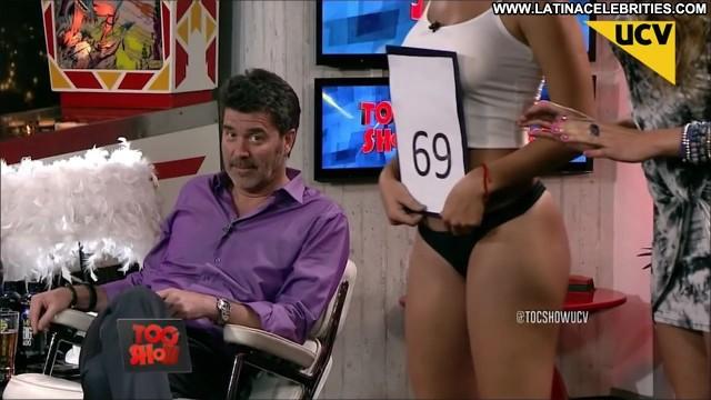 Pauli Bolatti Toc Show Celebrity International Sultry Medium Tits