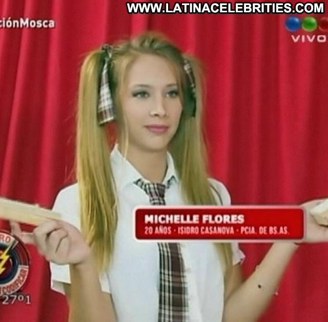 Michaelle Flores Miscellaneous Celebrity Blonde Brunette Sultry