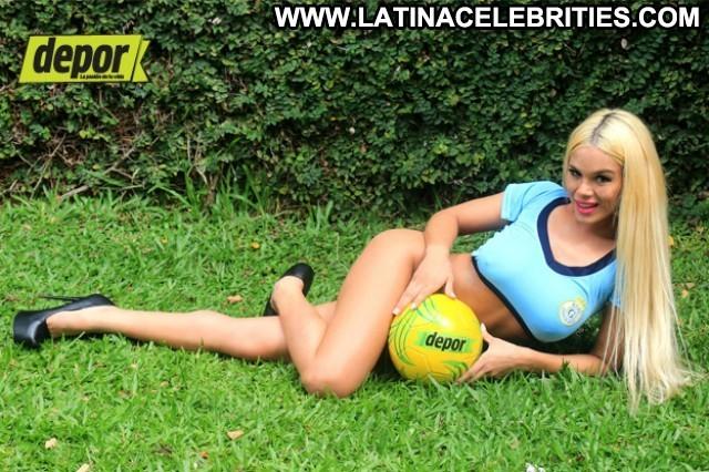 Pamela Caballero Miscellaneous Celebrity Posing Hot Blonde Latina