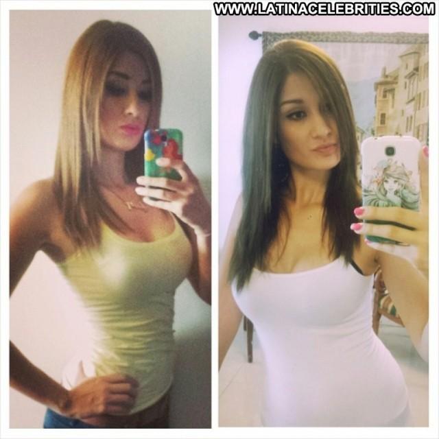 Gaby Santos Miscellaneous Beautiful Brunette Posing Hot Celebrity