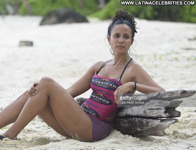 Monica Padilla Survivor Brunette Nice Latina Small Tits Sensual
