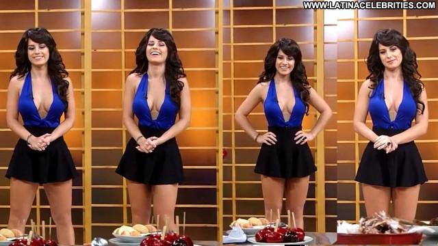Aricia Silva P C  A Nico Na Tv Celebrity Latina Stunning Blonde Hot