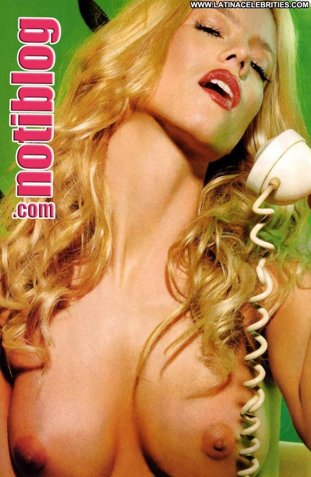 Nicole Neumann Notiblog Celebrity Doll Sultry Pretty Stunning Blonde
