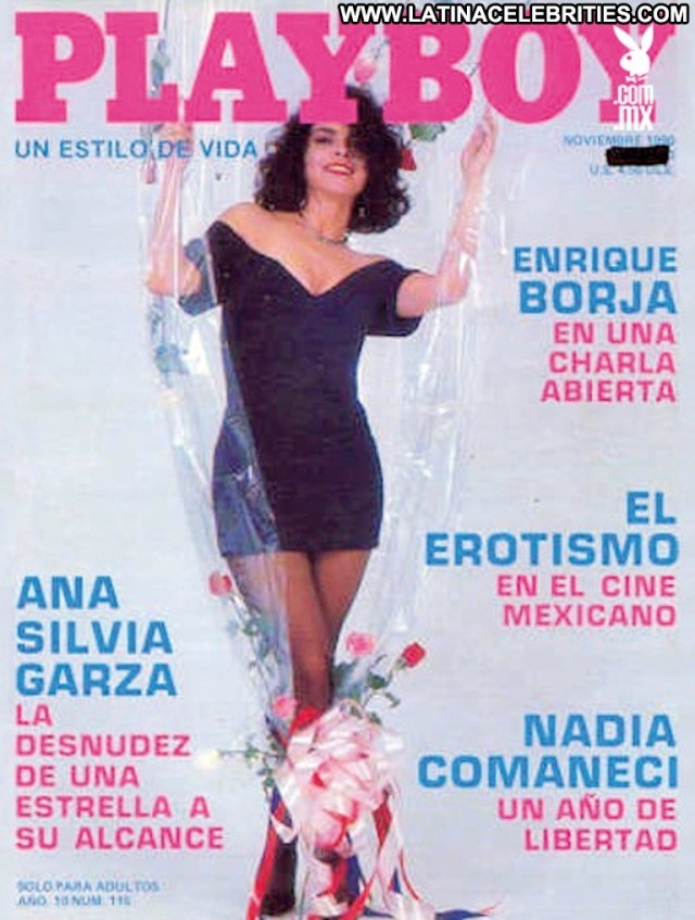 Ana Silvia Garza Miscellaneous Latina Cute Playmate Celebrity