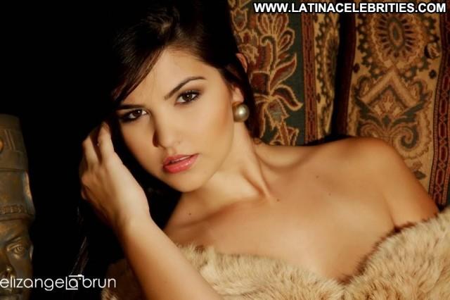Paula Aires Panicats Celebrity Stunning Brunette Latina Playmate