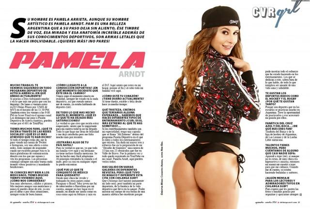 Pamela Arrieta Miscellaneous Celebrity Pretty Brunette Sultry Latina