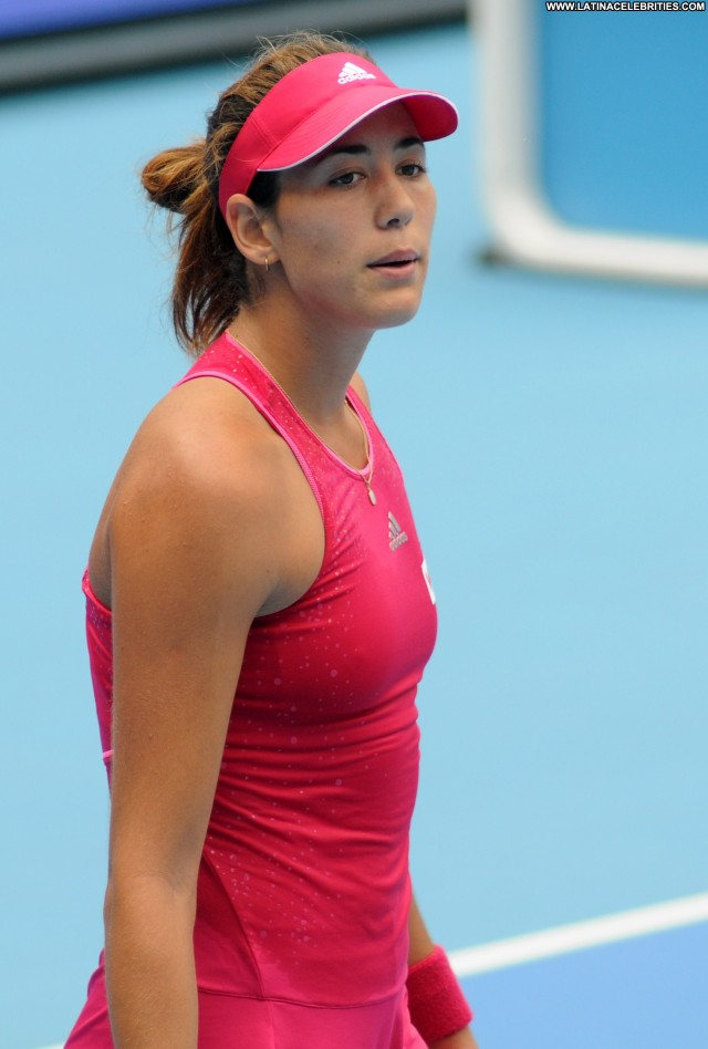 Garbine Muguruza Miscellaneous Athletic Brunette Latina International