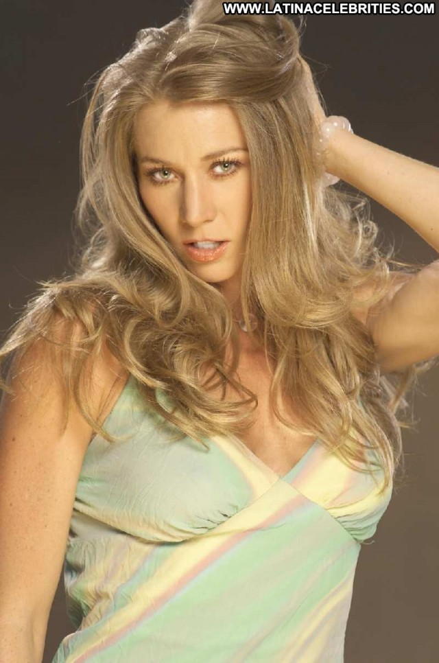 Monica Dossetti Miscellaneous Blonde Hot Celebrity Sultry Sexy Medium