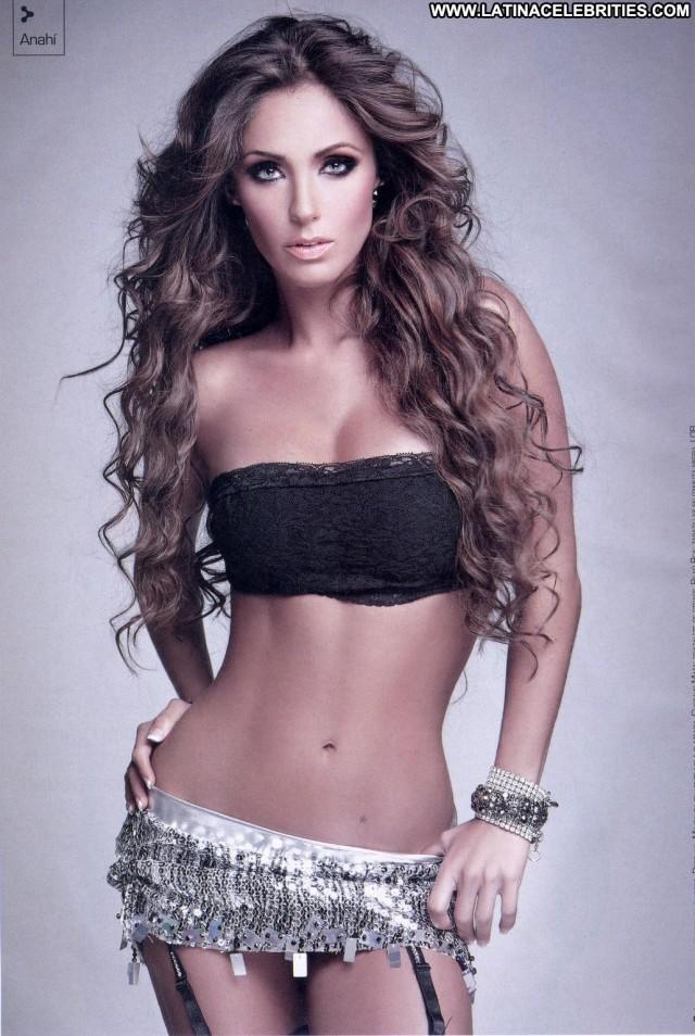 Anahi Miscellaneous Latina Small Tits Celebrity Skinny Blonde Singer