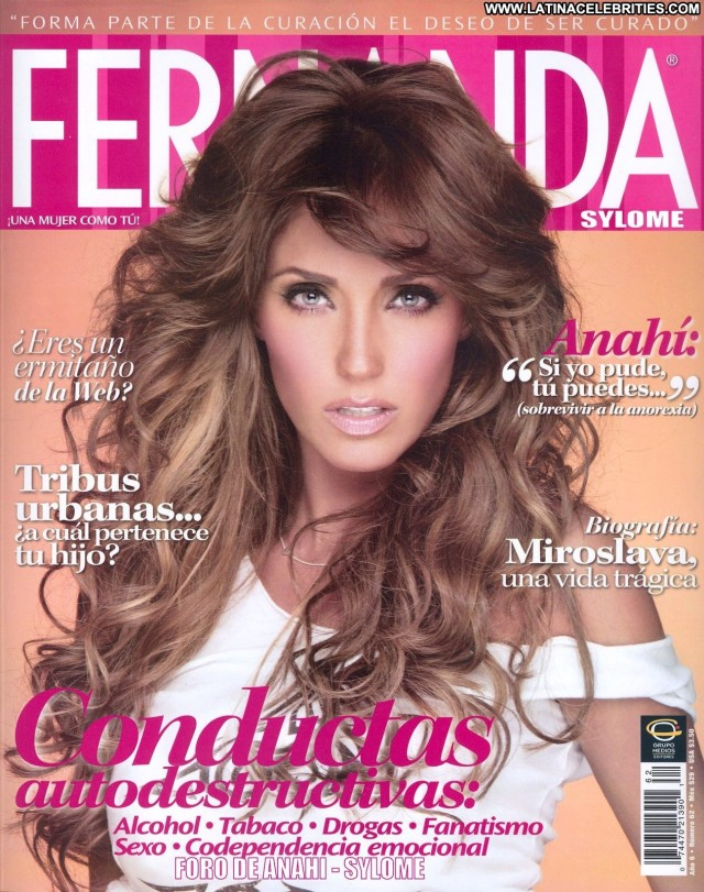 Anahi Miscellaneous Small Tits Singer Skinny Celebrity Blonde Medium