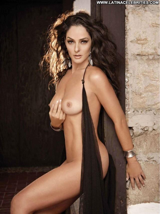 Andrea Garcia Playboy Mexico Celebrity Beautiful Medium Tits Playmate