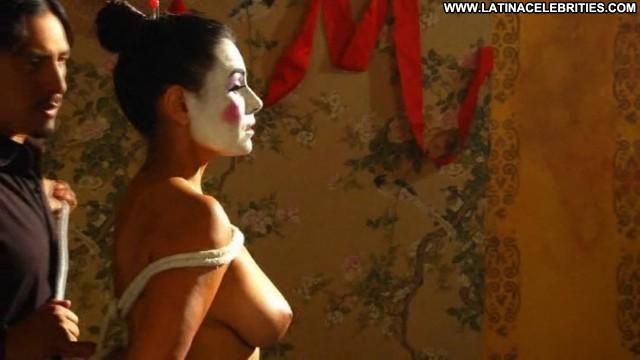 Claudia Goytia Rojo Org C  A Smico Sultry Brunette Nice Medium Tits