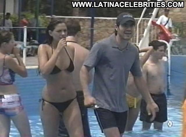 Alexa Damian Clase Celebrity Sensual Sexy Medium Tits Latina Brunette