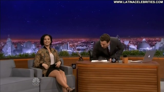 Demi Lovato The Tonight Show Starring Jimmy Fallon Celebrity Latina