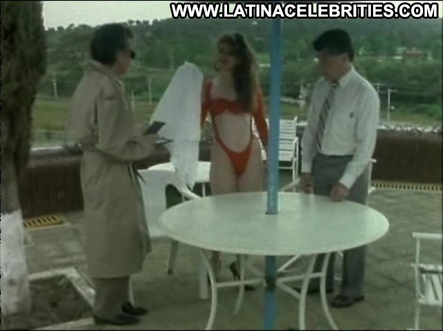 Vanessa Yudic El Detective Cazanachas Brunette Small Tits Celebrity