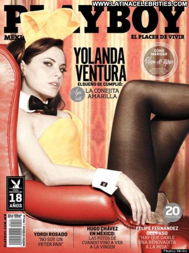 Yolanda Ventura Playboy Mexico Brunette Celebrity Latina Sexy