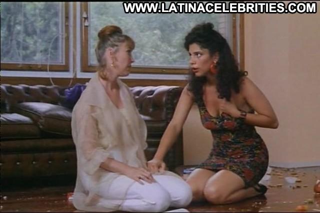 Maribel Verd Salsa Rosa Celebrity Skinny Medium Tits Brunette Posing