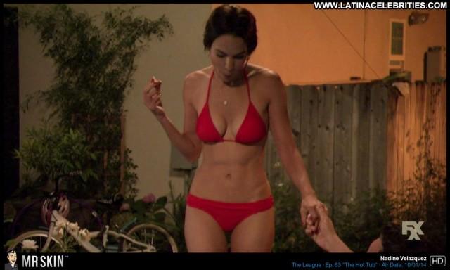 Nadine Velazquez The League Brunette Beautiful Latina Posing Hot