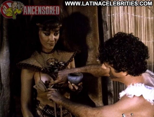Susana Traverso Barbarian Queen International Celebrity Latina Posing