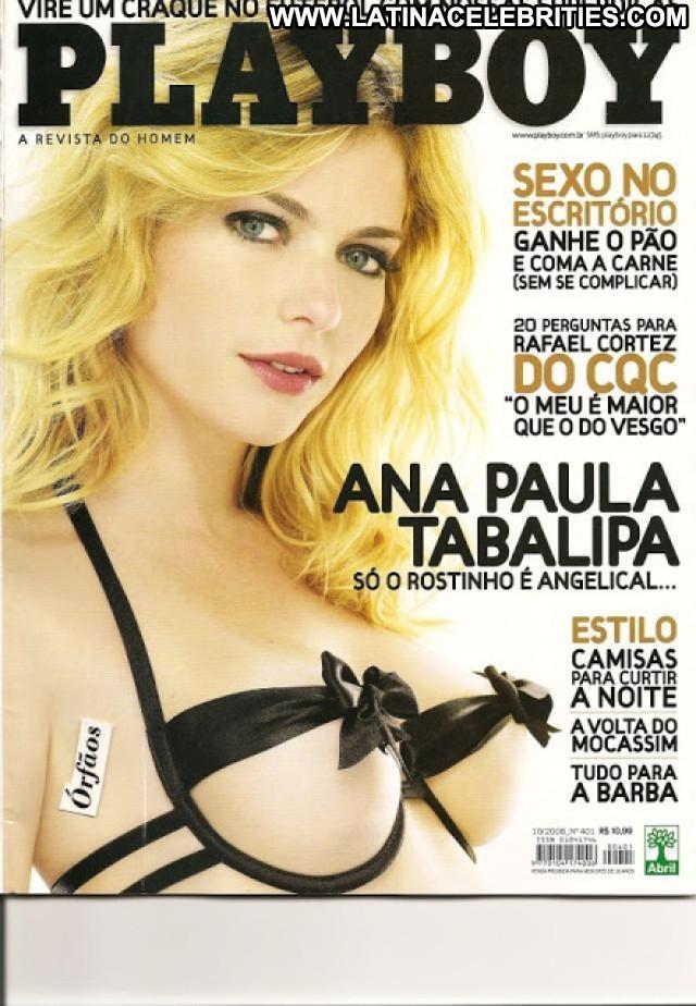 Ana Paula Tabalipa Playboy Brasil Brunette Celebrity Small Tits