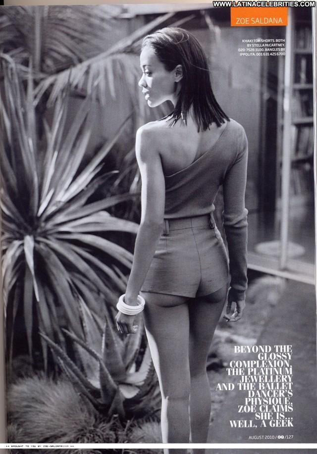 Zoe Saldana Miscellaneous Beautiful Sexy Celebrity Latina Medium Tits