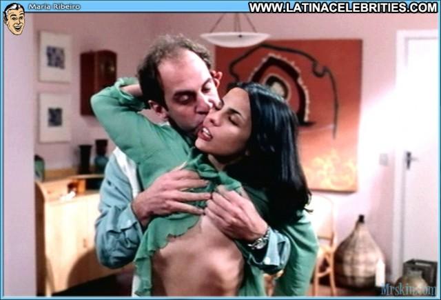 Maria Ribeiro Toler Celebrity Cute International Sexy Brunette Latina