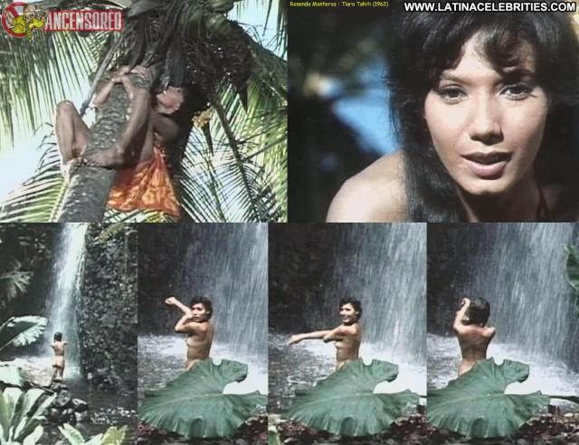 Rosenda Monteros Tiara Tahiti Latina Stunning Celebrity Small Tits