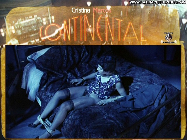 Cristina Marcos Continental International Celebrity Sexy Sensual