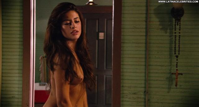 Mayra Leal Machete Brunette Medium Tits Sexy Latina Hot Celebrity Nice