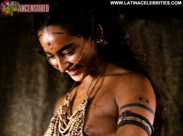 Dalia Hernandez Apocalypto International Brunette Posing Hot Latina