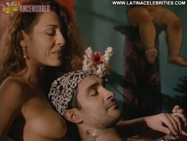 Amparo Grisales B International Sultry Sexy Celebrity Small Tits