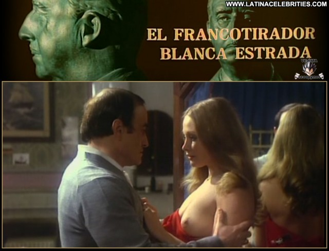 Blanca Estrada El Francotirador Latina Blonde International Beautiful