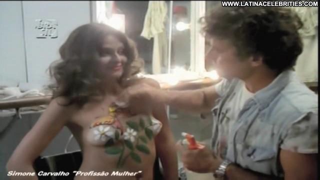 Simone Carvalho Profissa O Mulher Latina Posing Hot International