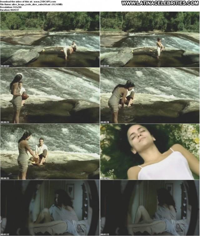 Alice Braga Only God Knows Latina Gorgeous Medium Tits Posing Hot