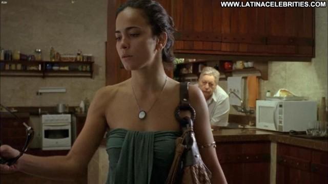 Alice Braga Cabeca A Premio Sensual Latina Celebrity Medium Tits