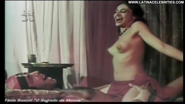 Tania Boscoli O Segredo Da M C  Bamia Brunette Celebrity Latina