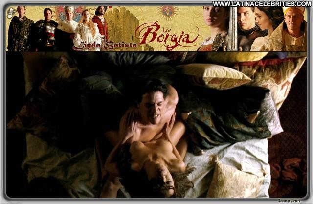 Linda Batista Los Borgia International Celebrity Brunette Medium Tits