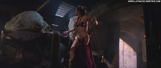 Carrie Fisher Return Of The Jedi Nice Pretty Brunette Celebrity Hot