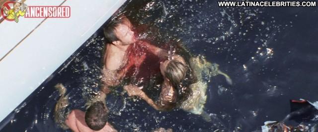 Ali Hillis Open Water   Adrift Sensual Celebrity Sexy Brunette Medium