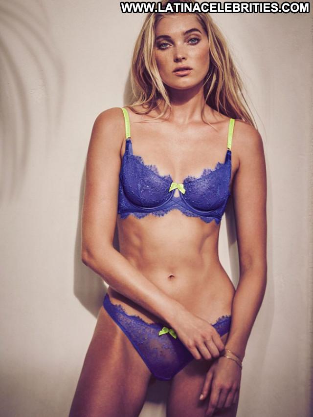Elsa Hosk No Source  Photoshoot Posing Hot Babe Lingerie Celebrity
