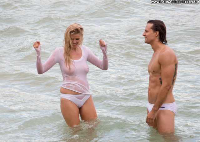 Lara Stone No Source Photoshoot Beautiful Celebrity Wet Shirt Hot