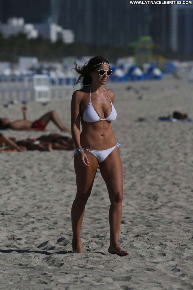 Imogen Thomas The Beach  Candids Babe Posing Hot Bikini Celebrity