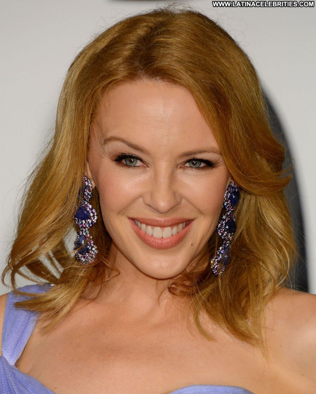 Kylie Minogue Vanity Fair Party Posing Hot Celebrity Beautiful Babe