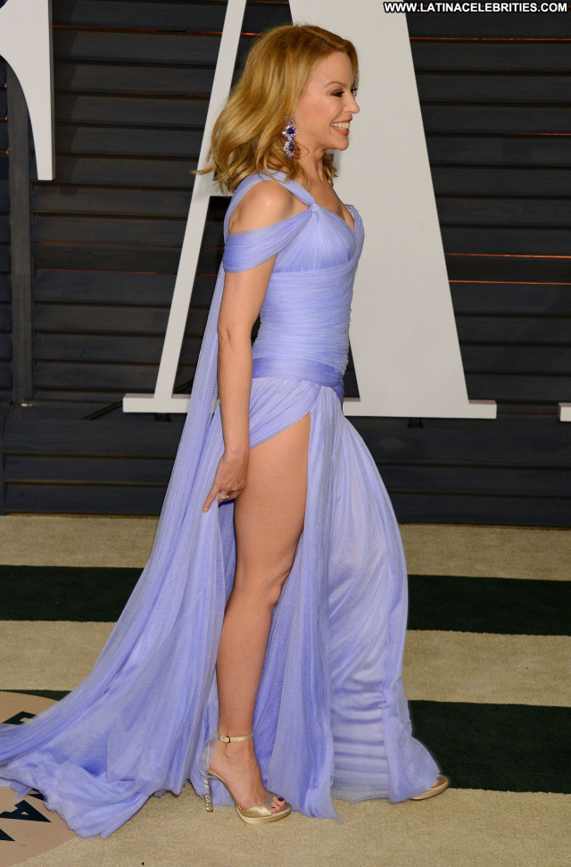 Kylie Minogue Vanity Fair Babe Celebrity Party Beautiful Posing Hot
