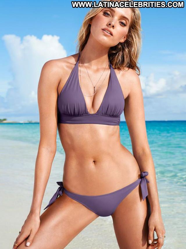 Elsa Hosk No Source Beautiful Posing Hot Bikini Babe Lingerie