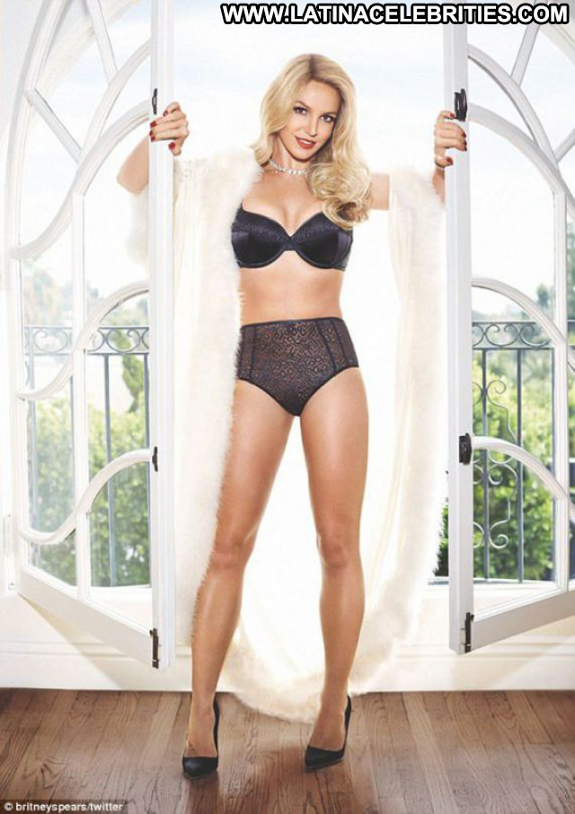 Britney Spears No Source Babe Lingerie Beautiful Celebrity Posing Hot