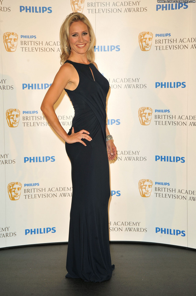 Sophie Raworth Beautiful British Posing Hot Celebrity Awards London